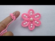 This video about: Hand Embroidery Tricks, Super Easy Flower Embroidery Trick, Amazing flower tricks Welcome to my channel crafts & Embroidery! Hand Embroidery Patterns Flowers, Crochet Motif Patterns, Hand Embroidery Videos, Hand Embroidery Tutorial, Silk Ribbon Embroidery, Hand Embroidery Designs, Diy Embroidery, Japanese Embroidery, Art Patterns