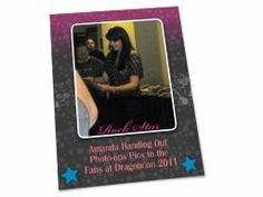 """Shared Project--My scrapbook page of """"Amanda Handing Out Photo Op Pics to the Fans at DragonCon 2011"""