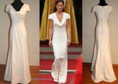 Pippa Middleton Dress: Frontal & Back View