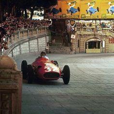 Juan Manuel Fangio. GP Monaco 1957