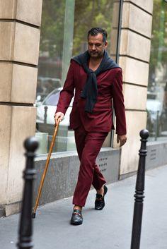 http://chicerman.com  1000yardstyle:  Paris Couture Week Varsae Vanni  #menscasual