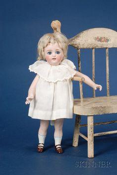 Kestner All-Bisque Girl Doll | Sale Number 2419, Lot Number 1019 | Skinner Auctioneers
