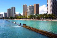 Kuhio Beach Breakwater Waikiki by MFMarlow via Flickr