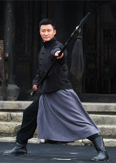 "The 36th Blogger of Shaolin. Wu Jing as Cheung Yik in 2016′s ""Call of Heroes""."