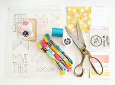 Stitched Class // Stitching Template by bckueser at @Studio_Calico