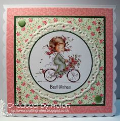 Using a die cut from The Hobby House