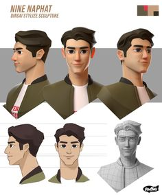 100 Modern Character Design Sheets You Need To See! Zbrush Character, 3d Model Character, Character Modeling, Character Concept, Character Art, 3d Modeling, 3d Modellierung, Character Turnaround, Character Design Animation