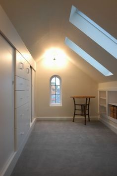 Upstairs hallway on pinterest window seats reading for Cape cod closets