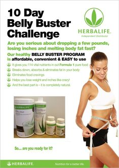 The 10 Day Herbalife Belly Buster Challenge - Doktor Osman Lose Weight Nutrition Herbalife, Herbalife Meal Plan, Herbalife Weight Loss, Herbalife Recipes, Herbalife Motivation, Herbalife Products, Fitness Motivation, Lose Weight Fast Diet, Lose Weight At Home