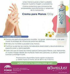 Crema para manos de Manzanilla