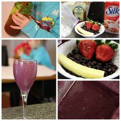 Tropical Blueberry Smoothie