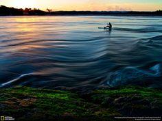 Tramonti sull'acqua e altre grandi fotodella settimana