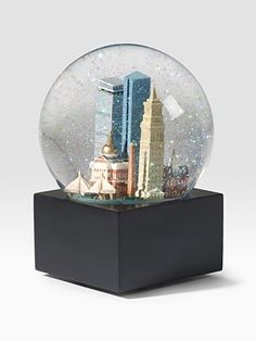 I am originally from boston and some are my fondest memories are going to Saks Fifth Avenue in Boston with my mother this is an awesome gift. Plus I love  snow globes!