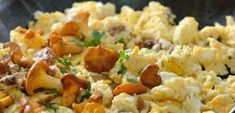 Scrambled eggs! Scrambled Eggs, Fried Rice, Potato Salad, Fries, Potatoes, Ethnic Recipes, Food, Meal, Potato