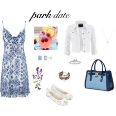 summer park date by evijuls on Polyvore featuring мода, Anna Field, maurices, Accessorize, Blue Nile, Ice and Nadri