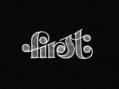 first by Kakha Kakhadzen #Design Popular #Dribbble #shots