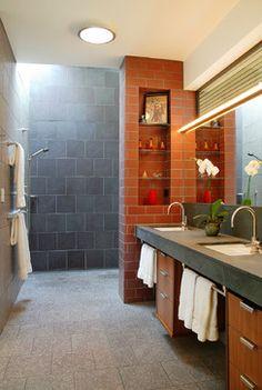 Greenwood Residence contemporary-bathroom