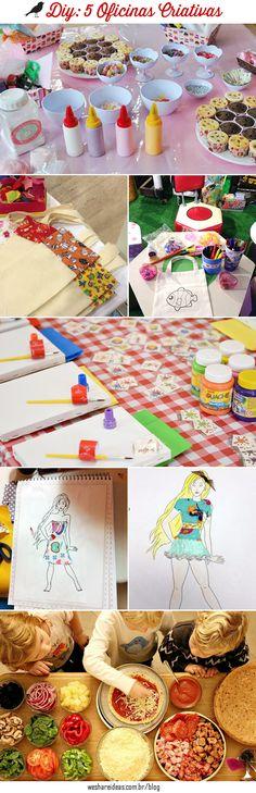 5 oficinas criativas