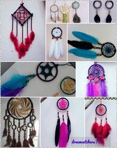 dreamcatchers!!! Creative Crafts, Diy And Crafts, Dream Catcher Mobile, Macrame Tutorial, Sun Catcher, Dreamcatchers, Wall Hanger, String Art, Yard Art