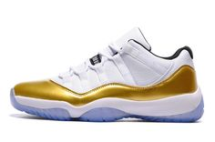 brand new 3211c afcf7 Air Jordan 11 Retro Men s Low Shoes white gold  airjordan11retro 017  -   83.99   Cheap