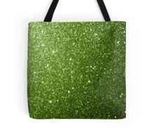 Beautiful Greenery Green glitter sparkles Tote Bag by #PLdesign #greenery #sparkles #SparklesGift