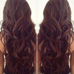 I definitely want the curls to start as high up as possible. This looks really natural but pretty...