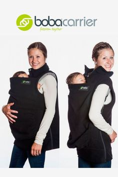 cb4201674 Chaleco abrigo de porteo Boba Vest - Tetatet - Camisetas de Lactancia y  Vestidos de Lactancia