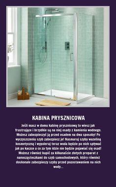 Jak zabezpieczyć szyby kabiny prysznicowej przed kamieniem? Sami zobaczcie!!!