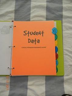 beyond the grades: teacher binder. Great ideas of things to include! this is brilliant!!
