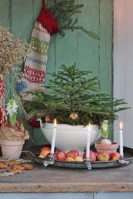 and I can sense a little Christmas feeling . Christmas Feeling, Christmas Interiors, Cottage Christmas, Scandinavian Christmas, Country Christmas, Winter Christmas, Christmas Home, Christmas Crafts, Christmas 2019