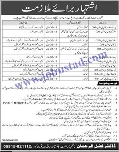 Jobs in Agriculture Department GB 2021 Advertisement has been announced in Skardu. For these Government Jobs in Gilgit Baltistan, male/female candidates from across the region can apply. Only literate persons who have age 18-35 years are eligible to apply for these Latest Jobs in Pakistan 2021.