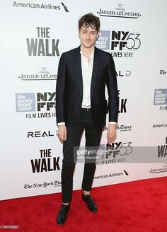 Actor Cesar Domboy attends the Opening Night Gala Presentation and 'The Walk' World Premiere during 53rd New York Film Festival at Alice Tully Hall at Lincoln Center on September 26, 2015 in New York City.