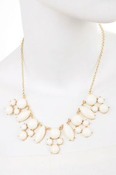 Seeing Bauble Ivory Necklace $26 FREE SHIPPING