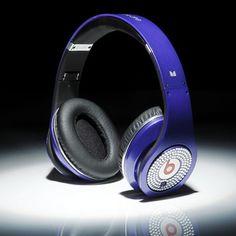 Beats By Dre Studio White Diamon Dark Blue