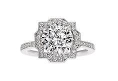 The Gossip Girl fans will appreciate this - Serena van der Woodsen's (Blake Lively) stunning Harry Winston engagement ring from Steven.