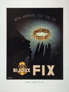 Art Deco advert