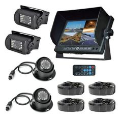 Pyle Black DVR Multi-camera and Monitor System - 19024046 - Overstock - Top Rated Pyle Car A/V Accessories - Mobile