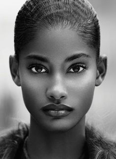 Natural beauty, Captivating Eyes and Perfect Complexion With Gorgeous Lips.