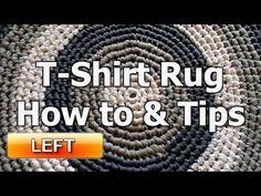 Meladoras Creations   T – Shirt Yarn Round Rug – Free Crochet Pattern - Meladoras Creations