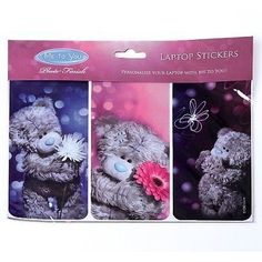 Tatty Teddy Bear Me to You Laptop iPad Stickers for School Books Little Gift Tatty Teddy, Blue Nose Friends, Bear Photos, Laptop Accessories, Laptop Stickers, Little Gifts, Wonders Of The World, Baby Items, Ipad