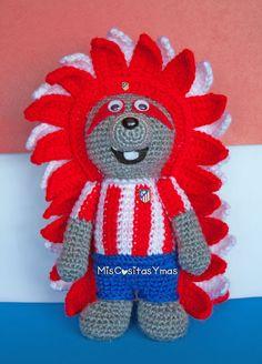 Indi, Mascota del Atlético Madrid