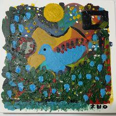 아기 파랑새 / Baby blue bird