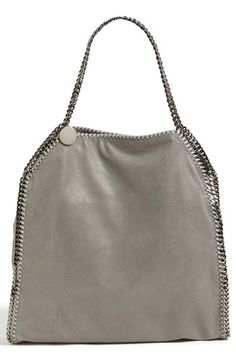 Stella McCartney 'Falabella - Large' Shaggy Deer Tote available at #Nordstrom