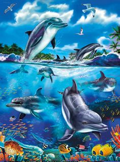Ich war gerade erst im Ozeanium in Stralsund. Das passt: Singing Dolphins