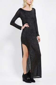Long dress for christmas party punch