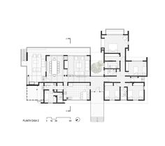 Villa Plan, Flat Roof, Hotel Suites, House Layouts, House Floor Plans, My Dream Home, Interior Architecture, Townhouse, Flooring