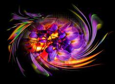 Blühende Fantasie   als Kunstdruck