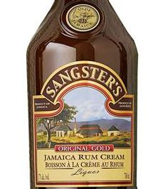 Sangster's Rum Cream, wish you could buy this state side...so good