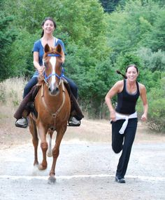 If your out-of-saddle fitness routine includes running, then you might be interested in a relatively unknown sport which combines both running and riding: the sport of Ride and Tie.
