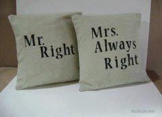 Sr. Certo e Sra. Sempre certa :)